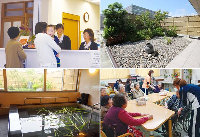 医療機関や訪問看護と連携を取りながら対応させていただいています。
